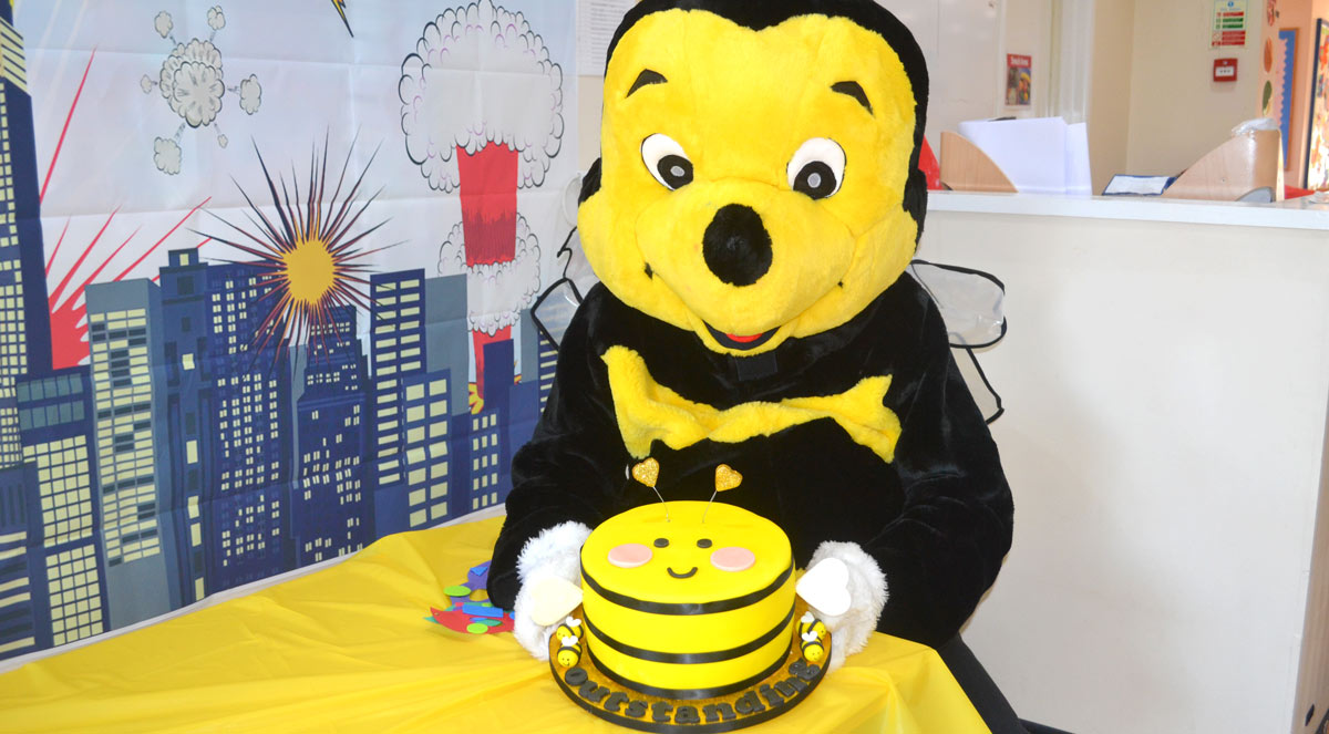 MR-BUMBLE OFSTED PARTY